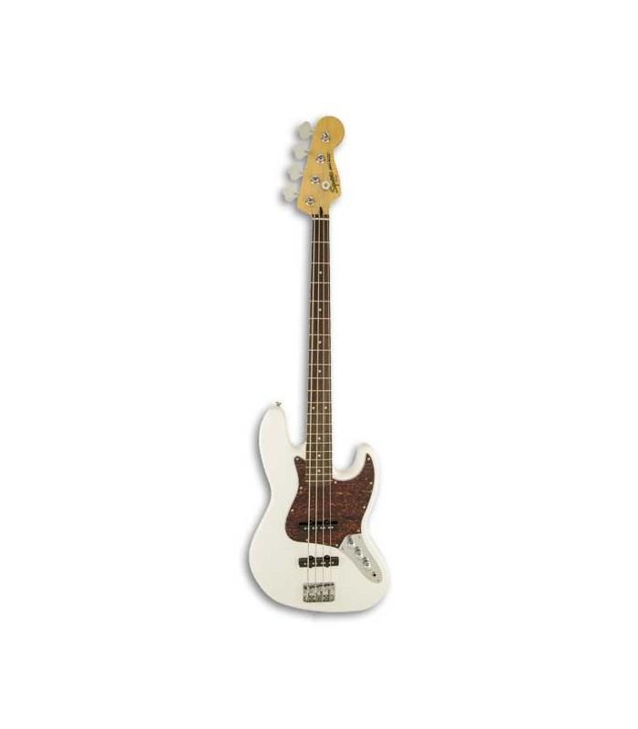 Guitarra Baixo Squier Vintage Modified Jazz Bass RW Olympic White