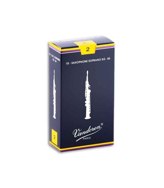 Palheta Vandoren 2 SR202 Saxofone Soprano