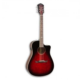 Guitarra Eletroacústica Fender T Bucket 300 CE Trans Cherry Burst