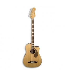 Guitarra Baixo Eletroacústico Kingman Bass Spruce/Mogno Natural com Estojo