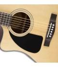 Guitarra Eletroacústica Dreadnought CD-100CE LH Natural para Esquerdino
