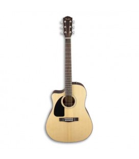 Guitarra Electroacústica Fender CD 100CE LH Dreadnought Natural para Zurdo