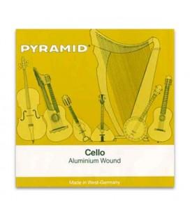 Juego de Cuerdas Pyramid 170100 para Violoncelo Alumínio 1/4