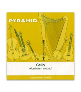 Pyramid Cello Strings Set 170100 Aluminium 1/4