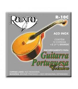 Jogo de Cordas Rouxinol R10C para Guitarra Portuguesa Coimbra Aço Inox