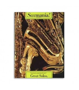 Livro Music Sales AM90123 Saxmania Great Solos