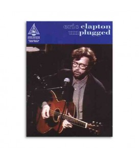 Libro Music Sales Eric Clapton Unplugged AM91067