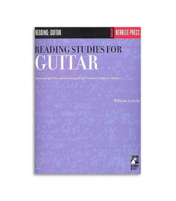 Libro Music Sales Berklee Reading Studies for Guitar GS44949