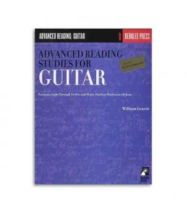 Livro Music Sales GS44950 Advanced Reading Studies Guitar