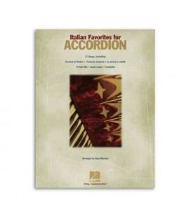 Livro Music Sales Italian Favorites Songs for Accordion HL00311089