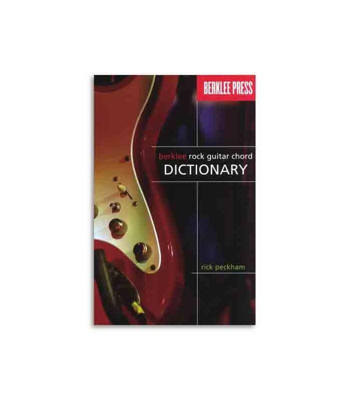 Livro Music Sales Berklee Rock Guitar Chord Dictionary HL50449596
