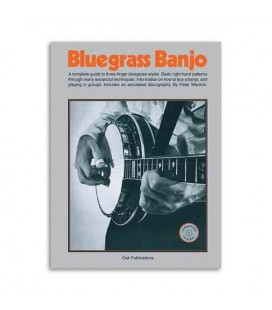 Livro Music Sales Bluegrass Banjo com CD OK62778