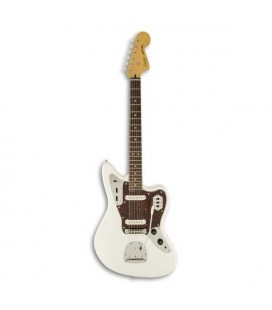 Guitarra Elétrica Fender Squier Vintage Modified Jaguar RW Olympic White