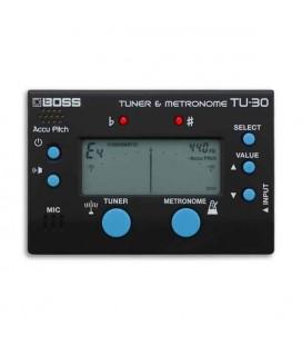 Afinador y Metrónomo Boss TU 30