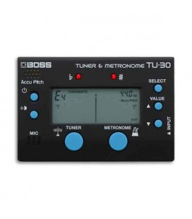 Boss Tuner and Metronome TU 30