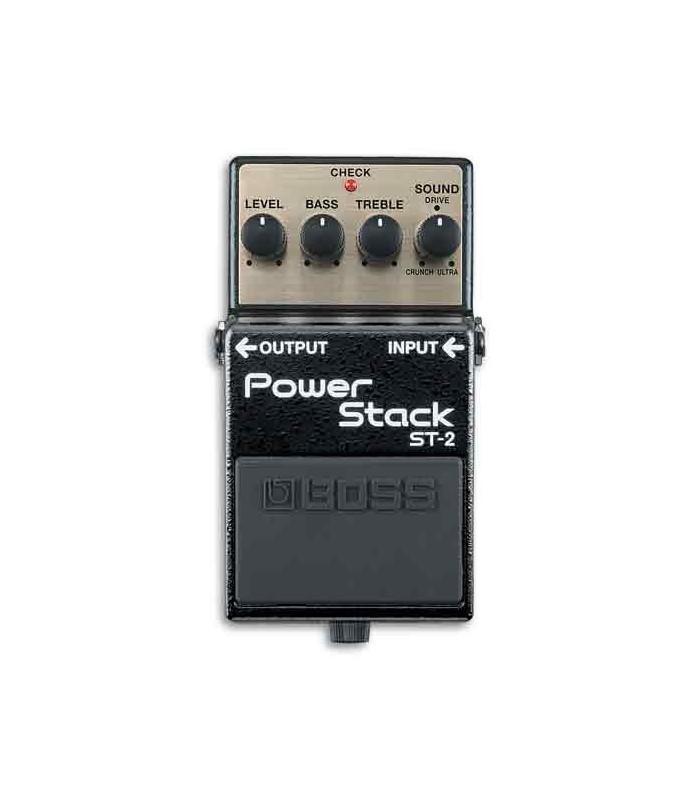 Foto superior do pedal Boss Power Stacks ST-2