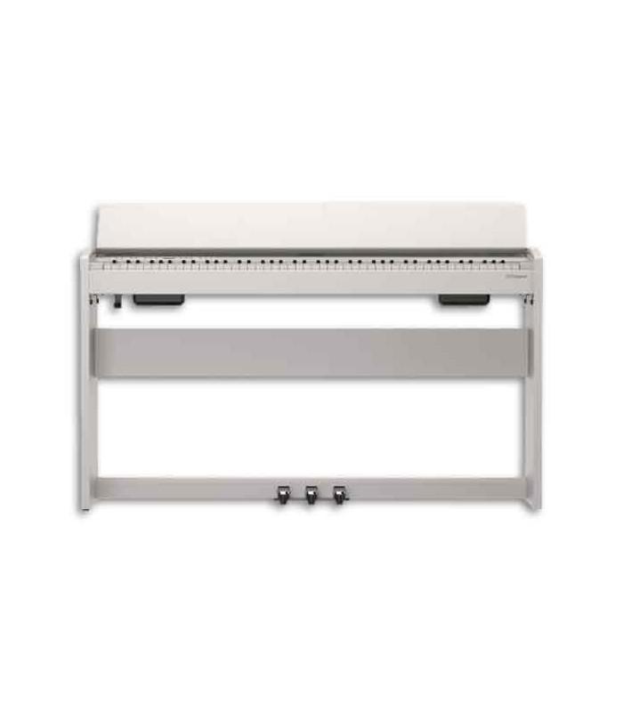 piano digital roland f140r 88 teclas 3 pedais com suporte. Black Bedroom Furniture Sets. Home Design Ideas