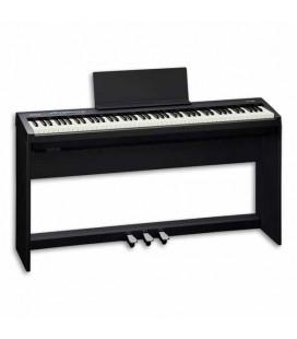 Piano Digital Roland FP 30 88 Notas 3 Pedais com Suporte