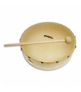 Goldon Tambourine 35275 20cm Natural Head