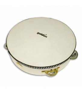 Goldon Tambourine 35290 20cm Natural Head