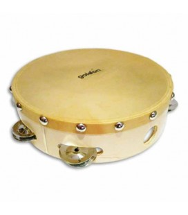 Goldon Tambourine 35325 20cm Natural Head