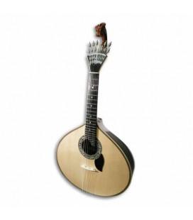 Guitarra Portuguesa Artimúsica Luthier Cabeça de Dragão Modelo Lisboa com Estojo