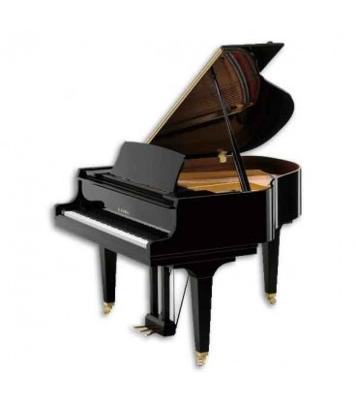 Piano de Cauda Kawai GL 20 156cm Preto Polido 3 Pedais