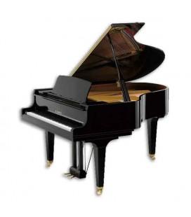 Piano de Cola Kawai GL40 180cm Negro Pulido 3 Pedales