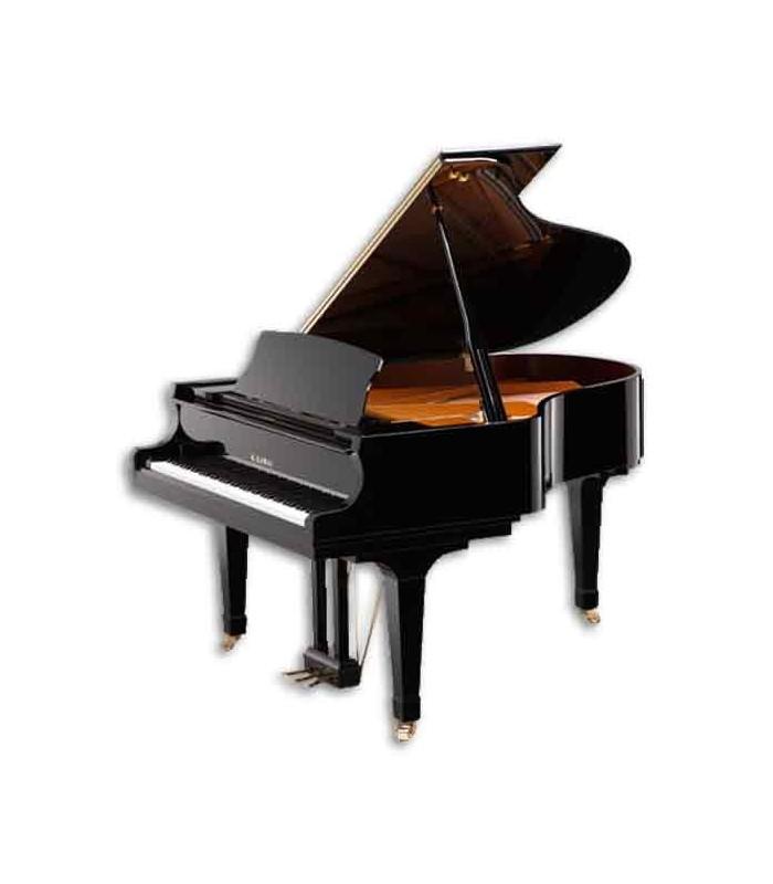Piano de Cauda Kawai GL 50 188cm Preto Polido 3 Pedais