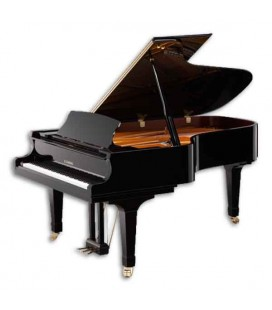 Kawai Grand Piano GX6 214cm Polished Black 3 Pedals