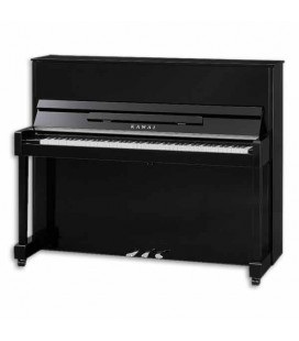 Kawai Upright Piano ND 21 121cm Polished Black 3 Pedals