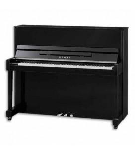 Piano Vertical Kawai ND 21 121cm Negro Pulido 3 Pedales