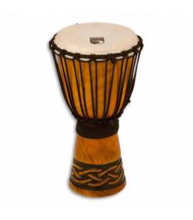 Djembe Toca Percussion TODJ 8CK Origin Series en Madera Afinación por Cuerdas