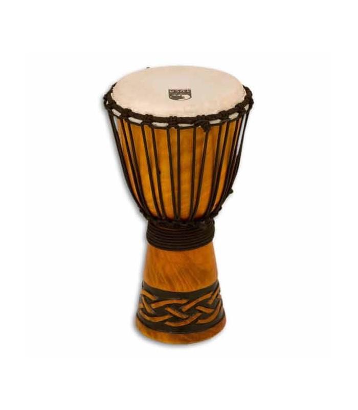 Toca Percussion Djembe TODJ 8CK Origin Series in Wood Rope Tuned