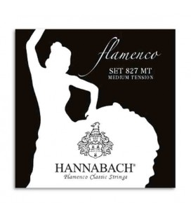 Hannabach Flamenco Guitar String Set E827MT Nylon Medium Tension