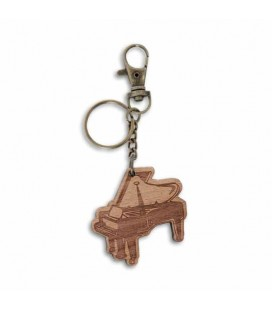 Artcarmo Key Chain Wood Musical Themes