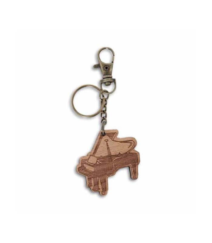 Porta chaves Gewa em Madeira com Motivos Musicais