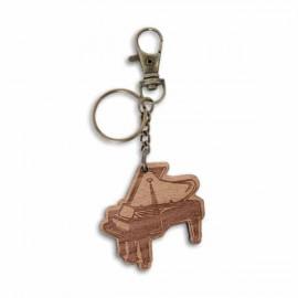 Porta chaves SML em Madeira com Motivos Musicais