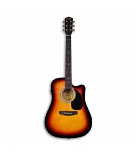 Guitarra Electroacústica Fender Squier SA 105CE Sunburst