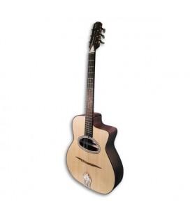 Guitarra Jazz APC JMD200WLN Boca en D Abeto y Nogal