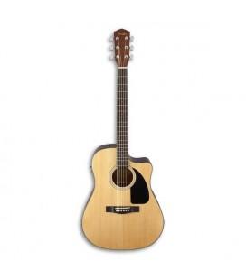 Guitarra Electroacústica Fender Dreadnought CD 60SCE Natural