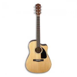 Guitarra Eletroacústica Fender Dreadnought CD 60SCE Natural