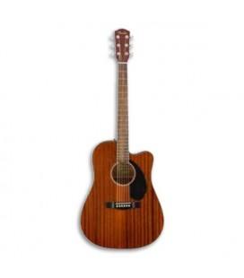 Guitarra Electroacústica Fender Dreadnought CD 60SCE All Mahogany