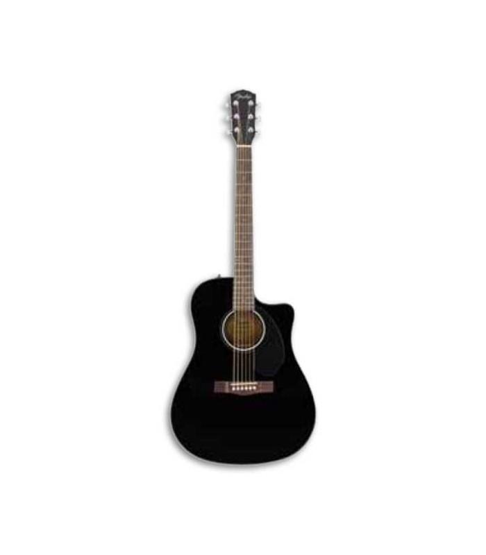 Guitarra Eletroacústica Fender Dreadnought CD 60SCE Black
