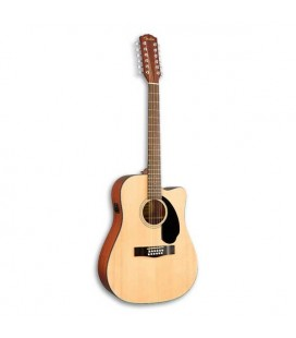 Guitarra Eletroacústica Fender Dreadnought CD 60SCE 12 Natural 12 Cordas