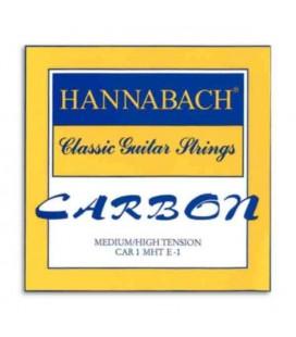 Hannabach Classical Guitar Individual String ECAR 1 MHT 1a Mi E 1 Carbon
