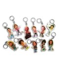 Collection Caricature Key Chain