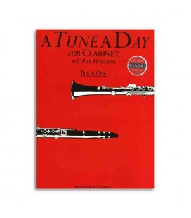 Livro Music Sales BM10108 Tune a Day Clarinet Book 1