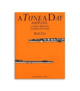 Livro Music Sales BM10165 Tune a Day Flute Book 2