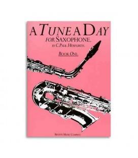 Libro Music Sales BM10223 Tune a Day Saxophone Book 1